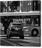 Crossing Traffic Canvas Print