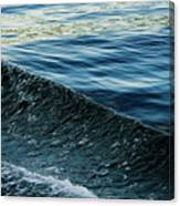 Crossing Waves Canvas Print