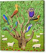 Crowded Tree Canvas Print