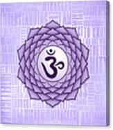Crown Chakra - Awareness Canvas Print