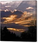 Crown Cloud Canvas Print