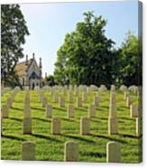 Crown Hill National Cemetery, Indianapolis, Indiana Canvas Print