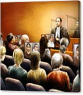 Crown Kevin Gowdey Delivers Opening Address At The Rafferty Trial Canvas Print