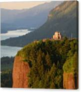 Crown Point And Columbia River Canvas Print