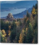 Crown Point In The Fall Canvas Print