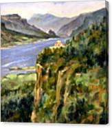Crown Point Oregon Canvas Print