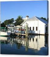 Crowninshield Boat House Canvas Print