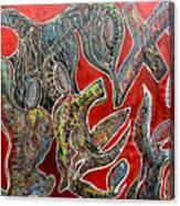 Crucible Canvas Print