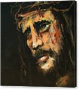 Crucified Jesus Canvas Print