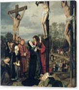 Crucifixion Canvas Print