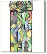 Cruciform X Canvas Print