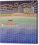 Cruise Vacation Destination Canvas Print