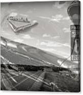 Cruisin Route 66 Canvas Print