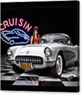 Cruisin' The Diner .... Canvas Print