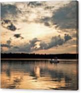 Cruising, Eagle Lake, Almaguin Highlands, Ontario Canvas Print