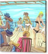 Shameful Pleasure Canvas Print