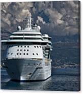 Cruising The Adriatic Sea Canvas Print