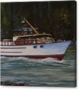 Cruising The British Columbia Gulf Islands, Canada                                       Canvas Print
