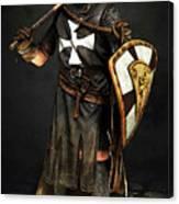 Crusader Warrior - 02 Canvas Print
