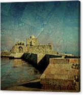 Crusaders Sea Castle Canvas Print