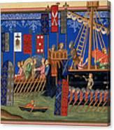 Crusades 14th Century Canvas Print
