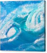 Crushing Wave Canvas Print