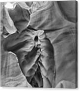 Crying Face - Antelope Canyon Canvas Print