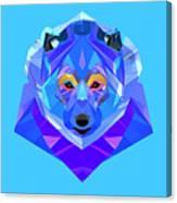 Crystal Bear - 90 Canvas Print