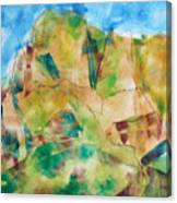 Crystal Catalina Canvas Print