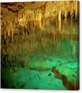 Crystal Cave Hamilton Parish Bermuda Canvas Print