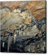 Crystal Cave Marble Canvas Print