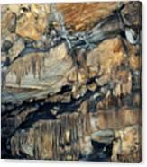 Crystal Cave Marble Sequoia Portrait Canvas Print