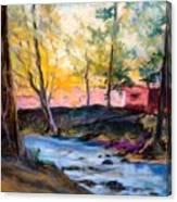 Crystal Clear Creek Canvas Print