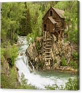 Crystal Mill In July Canvas Print
