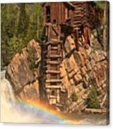 Crystal Mill Rainbow Canvas Print