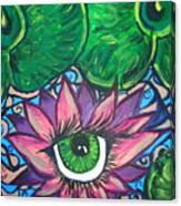 Crystal Ponds Canvas Print