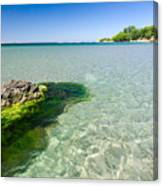 Crystal Sea Canvas Print