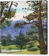 Crystal Springs Fairway Canvas Print