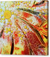 Crystal Sunburst Canvas Print
