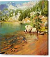 Crystalline Waters Canvas Print