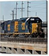 Csx 8011 Bone Valley Bound Canvas Print