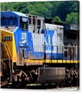 Csx Train 378 Canvas Print