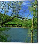 Csx Transportation Bridge Canvas Print