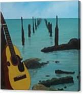 Cuatro Seascape Canvas Print