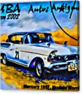Cuba Antique Auto 1957 Mercury Monterrey Canvas Print