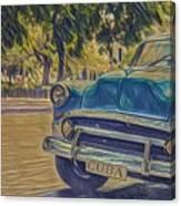 Cuba Car Canvas Print