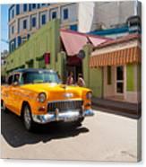 Classic Cuba Cars IIi Canvas Print