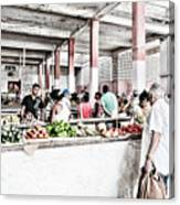 Cuba Market Canvas Print