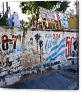 Cuba Wall Canvas Print