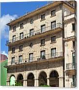 Cuban Building. Canvas Print